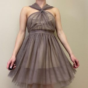 Small ARC & CO | Dusty Lavender Tulle Dress